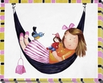 Slumber with Purse Wrapped Canvas Giclee Print Wall Art
