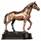 Small Walking Horse Statue