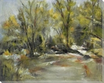 Softly Scenic View Wrapped Canvas Giclee Print Wall Art