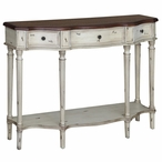 Somerset Two Tone Wood Console Table