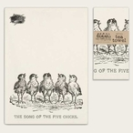 Song of the Five Chicks Cotton Tea Towels, Set of 4