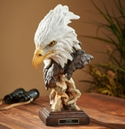 Sovereign Eagle Bird Hand Painted Sculpture