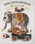 Spielzeug Museum 1 Elephant Wrapped Canvas Giclee Print Wall Art