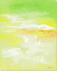 Spring Green 3 Wrapped Canvas Giclee Print Wall Art