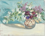 Spring Still Life Flowers Wrapped Canvas Giclee Print Wall Art