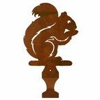 Squirrel Metal Drape Rod Holders
