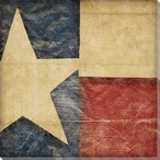 Stars and Bars 4 USA Flag Wrapped Canvas Giclee Print Wall Art
