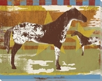 State Fair Horses Wrapped Canvas Giclee Print Wall Art