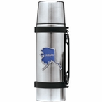 State of Alaska Blue Stainless Steel Thermos with Pewter Accent