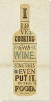 Status Quote Wine Wrapped Canvas Giclee Print Wall Art