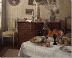 Still Life in the Dining Room Wrapped Canvas Giclee Print Wall Art