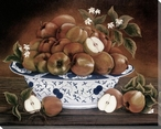 Still Life of Apples Wrapped Canvas Giclee Print Wall Art