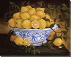 Still Life of Lemons Wrapped Canvas Giclee Print Wall Art