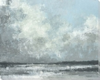 Storm Over Coast Wrapped Canvas Giclee Print Wall Art