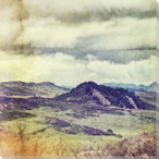 Storm Over Foothills Wrapped Canvas Giclee Print Wall Art