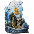 Sunlit Seas Mermaid Bookend by Selina Fenech