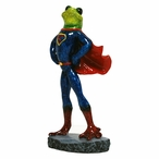 Superman Frog Statue