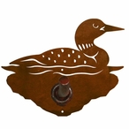 Swimming Loon Metal Robe Hook