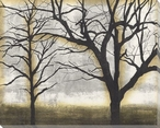Tandem Trees III Wrapped Canvas Giclee Print Wall Art