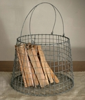 Tapered Kindling Wire Basket