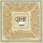Tea and Recipes 2 Wrapped Canvas Giclee Print Wall Art