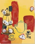 Tea for Breakfast Wrapped Canvas Giclee Print Wall Art