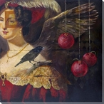Temptation 1 Portrait Wrapped Canvas Giclee Print Wall Art