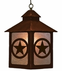 Texas Star Metal Lantern Pendant Light