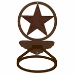Texas Western Star Metal Bath Towel Ring