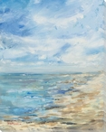 The Beach Wrapped Canvas Giclee Print Wall Art