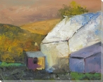 The Hills Beyond Wrapped Canvas Giclee Print Wall Art