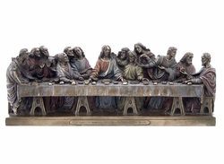 Veronese Last Supper Statue The Last Supper by Leo...