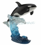 The Leaping Orca Whale Sculpture