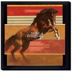 The Rank One Wild Horse Wrapped Canvas Giclee Print Wall Art