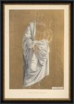 The Saint Antiquities Matted and Framed Acrylic Art Print Wall Art