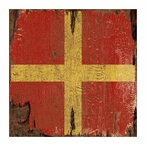 The Way Nautical Signal Flag Vintage Style Metal Sign