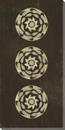 Three Medallions 3 Wrapped Canvas Giclee Print Wall Art