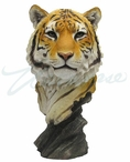 Tiger Head Bust Sculpture