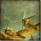 To Soar Plane Wrapped Canvas Giclee Print Wall Art