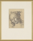 Treccia Matted and Framed Art Print Wall Art