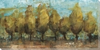 Tree Line at 2 P.M. Wrapped Canvas Giclee Print Wall Art