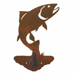 Trout Fish Metal Robe Hook
