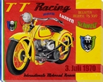 TT Racing Wrapped Canvas Giclee Print Wall Art