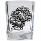 Turkey Pewter Accent Shot Glasses, Set of 4