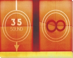 TV Pattern Sights & Sounds 4 Wrapped Canvas Giclee Print Wall Art
