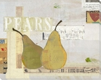 Two Pears Wrapped Canvas Giclee Print Wall Art
