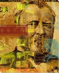 Ulysses S. Grant on Fifty Dollar Bill Wrapped Canvas Giclee Print