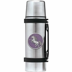 Unicorn Purple Stainless Steel Thermos with Pewter Accent