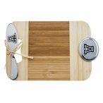 University of Arizona Wildcats Bamboo Mini Serving Board and Spreader
