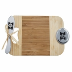 University of Missouri Tigers Bamboo Mini Serving Board and Spreader